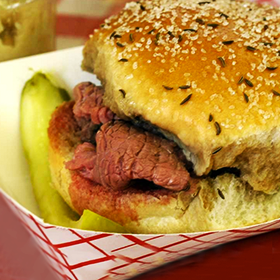 Photo: Beef on weck