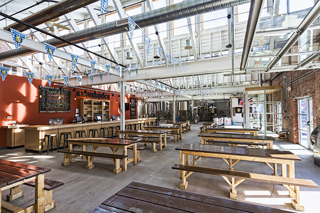 Resurgence Brewing Co. main floor