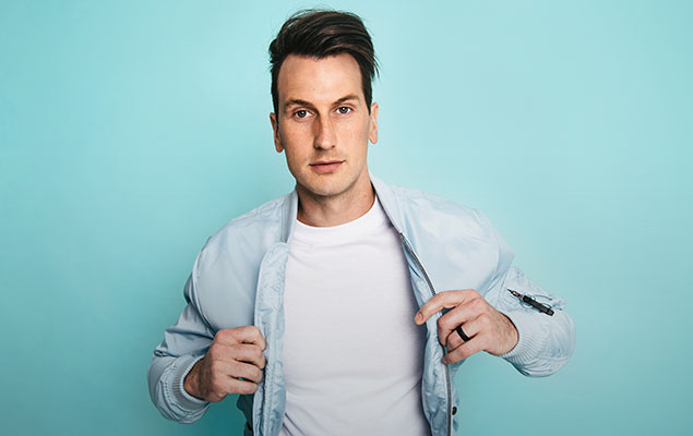 Russell Dickerson, headliner of Redfest.